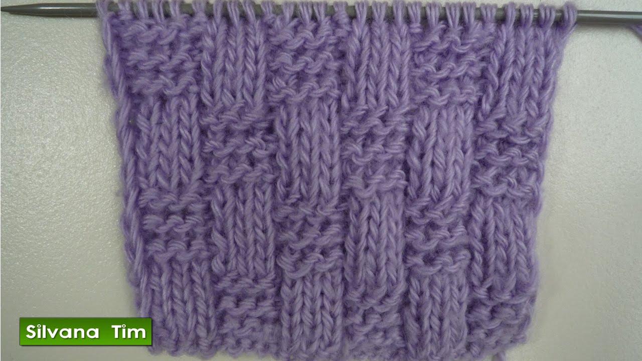 Clase de tejido con dos agujas para los principiantes - Bolsa para guardar agujas de tejer ...
