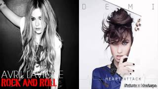 Avril Lavigne Rock N Roll VS. Demi Lovato - Heart Attack Mashup.mp3