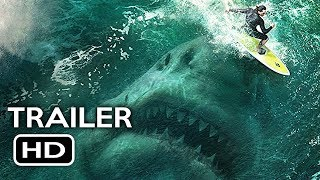 The Meg Official Trailer 1 2018 Jason Statham Ruby Rose Megalodon Shark Movie HD