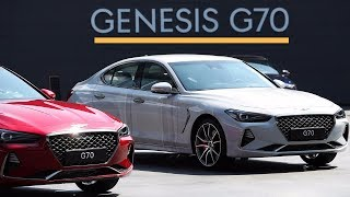 WOW.! 2019 Genesis G70 First Drive Video