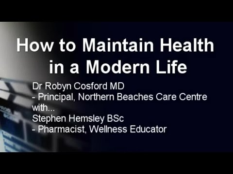 Healthy 100 - How to Maintain Health in a Modern Life