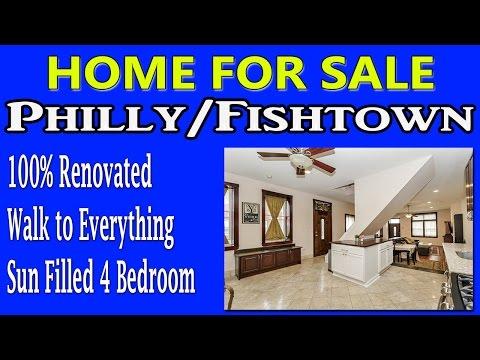 Home For Sale Total Renovation 4 BED 2FBA Fishtown 2316 Coral St. Philadelphia PA 19125 Real Estate