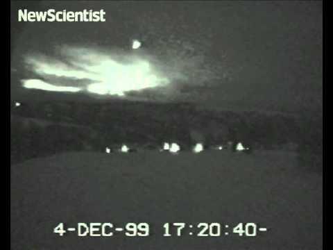 Mysterious Norwegian lights caught on camera