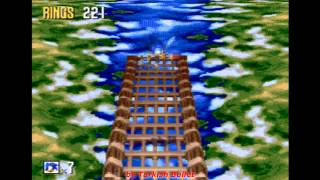 Sonic 3D Blast (Sega Mega Drive / Genesis) - (Special Stages - All Chaos Emeralds)