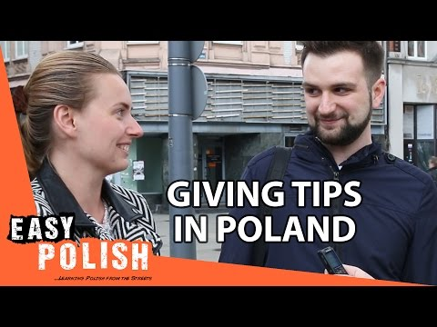 Tipping in Poland - Easy Polish 48