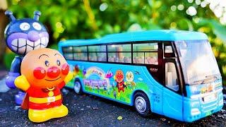 アンパンマン おもちゃ アニメ アンパンマン貸切バスを紹介するよ♪ ダイアペット