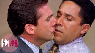 top 10 Most Awkward TV Kisses
