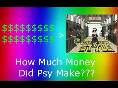 How Much Money Did Gangnam Style Earn??? 2016