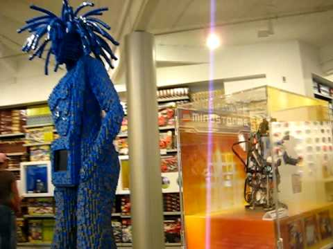 Lego Store at Downtown Disney 2008 - YouTube