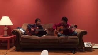 Binh & Minh play Guitar on Fire