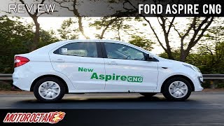 Ford Aspire CNG Review | Hindi | MotorOctane