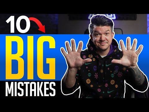 Top 10 Horrible Music Marketing Mistakes