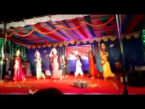 Bharath Matha School Tumkur .9th Students Dance Performance.
