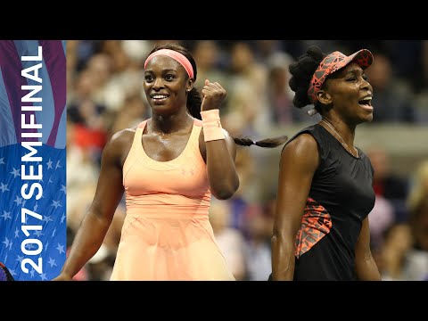 Venus Williams Vs Sloane Stephens Full Match | US Open 2017 Semifinal
