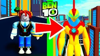 Ben 23 EPIC Transformations Roblox Ben 10 Arrival of Aliens