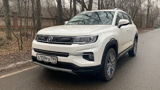 Взял Changan CS35 Plus - на лицо Фольксваген, по езде Сузуки