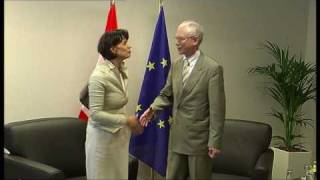 With President and Head of Government of the Swiss Confederation, Doris LEUTHARD