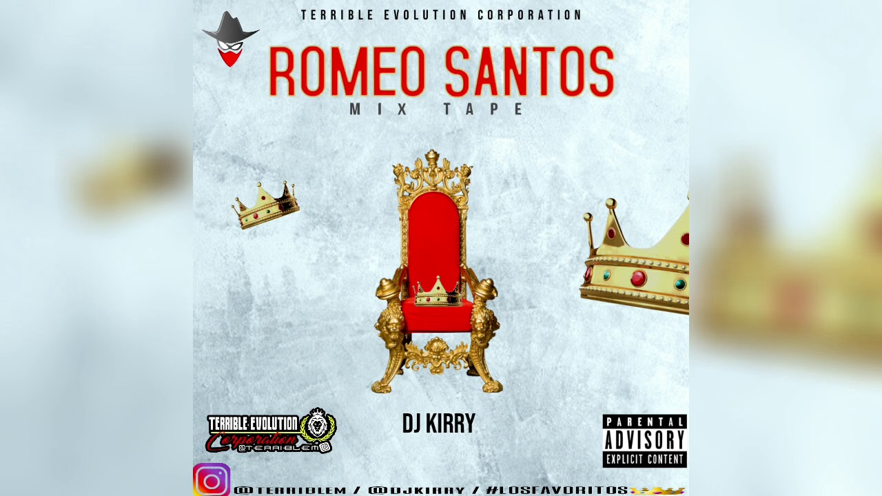 Romeo Santos Mixtape Vol.1 - Dj Kirry Ft Terrible Evolution Corporation (Bachata Mix)