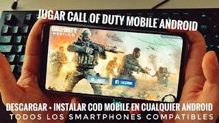 Como Jugar Call Of Duty Mobile en Cualquier Android + Todos Smartphones Compatibles