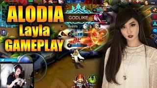 ALODIA GOSIENGFIAO LAYLA GAMEPLAY!!   Mobile Legends