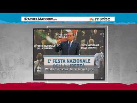 Italian President on Obama Rachel