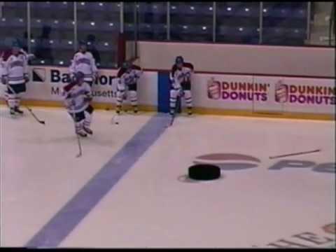 Ice Hockey Passing Drills