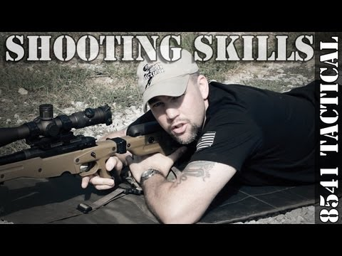Precision Rifle Shooting Skills - The Supported Prone Position (bipod loading)