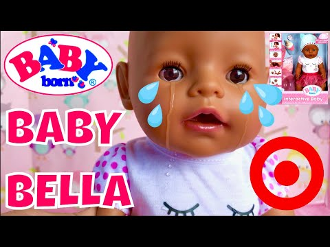 👶🏽Baby Born Interactive At Target! Unboxing & Review + Badger Basket Doll Crib Review Compilation!