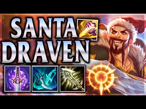 NAUGHTY PLAYERS CATCH THE WHIRLING GIFT OF DEATH! Santa Draven Jungle