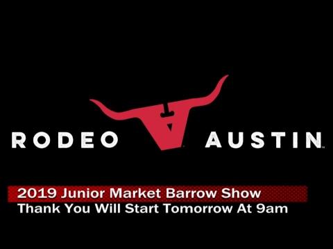 2019 Junior Market Barrow Show Day 1