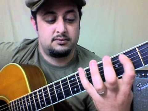 Acoustic guitar lesson - how to play bad to the bone - easy beginner songs