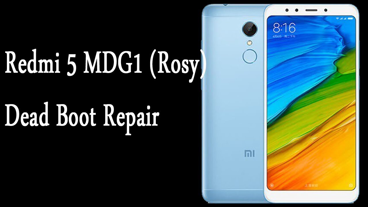 How to flash Redmi 5 MDG1 ROSY Global Version