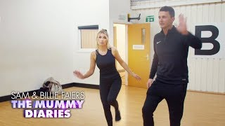 Billie and Greg Have a Dance Class with Pussycat Doll Kimberly Wyatt | The Mummy Diaries