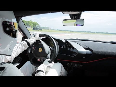 Watch the Ferrari 488 Pista Smash the Top Gear Test Track Lap Record