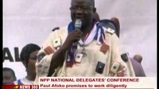 News 360 - NPP Chairman ,Paul Afoko promises to work Diligently -13/4/2014 thumbnail
