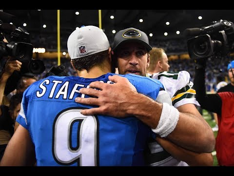 Aaron Rodgers Dishes on Matthew Stafford