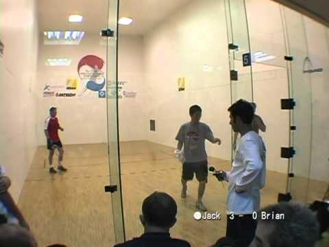 2004 Racquetball World Championships. Men's Singles Semifinal