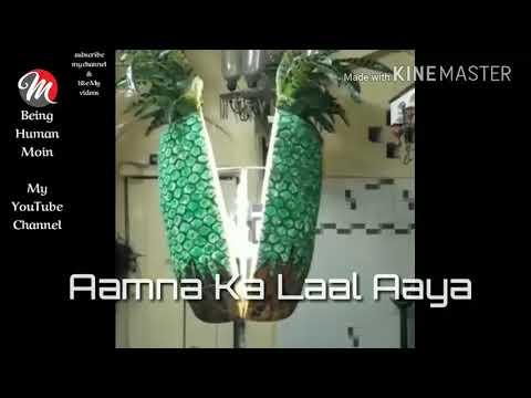 Aamna Ka Laal Aaya Whatsapp Status Video