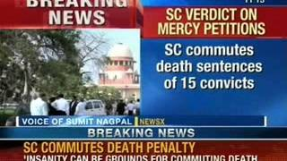 Breaking News: Supreme Court commutes death sentence of 15 convicts - NewsX