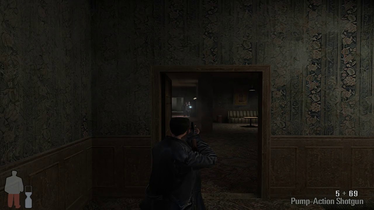Max Payne: Gigapixel A.I Upscale Texture Test
