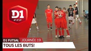 D1 Futsal, journée 19 : Tous les buts ! thumbnail