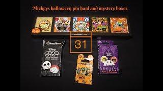 Mickeys Hallowen party Pin and NBC mystery box openings!