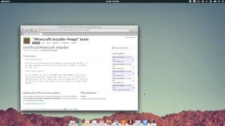 Install Minecraft in elementary OS Luna
