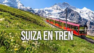 Suiza en tren por los alpes desde Basilea por Interlaken y hasta Zurich