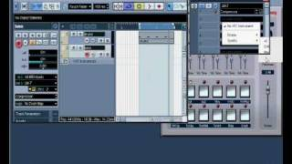 cubase sx3 midi track and instrument tutorial pt1