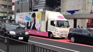 水樹奈々さん animelo LIVE 応援担当のアドトラック映像。