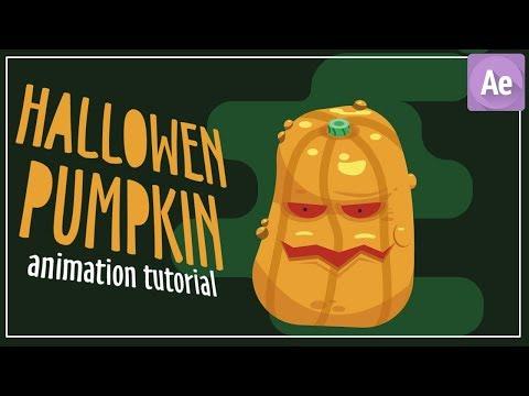 Halloween Pumpkin Animation - After Effects Tutorial thumbnail