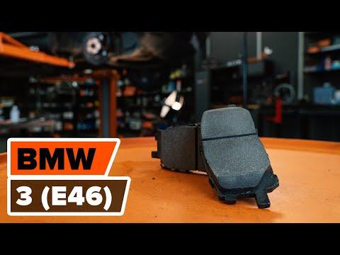 wie bmw 3 e46 bremsen vorne we hseln bremsscheiben und. Black Bedroom Furniture Sets. Home Design Ideas