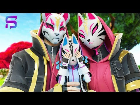 DRIFT & CATALYST LOVE Their New BABY DAUGHTER .... ( Fortnite Film )