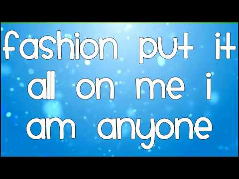 Lady Gaga-Fashion+Lyrics